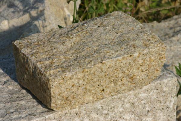Κυβόλιθος από Γρανίτη Oriental Yellow